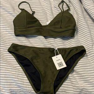 Cupshe green bikini
